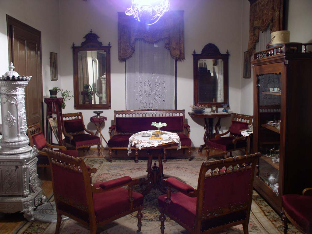Salon for receptions in the Town Museum