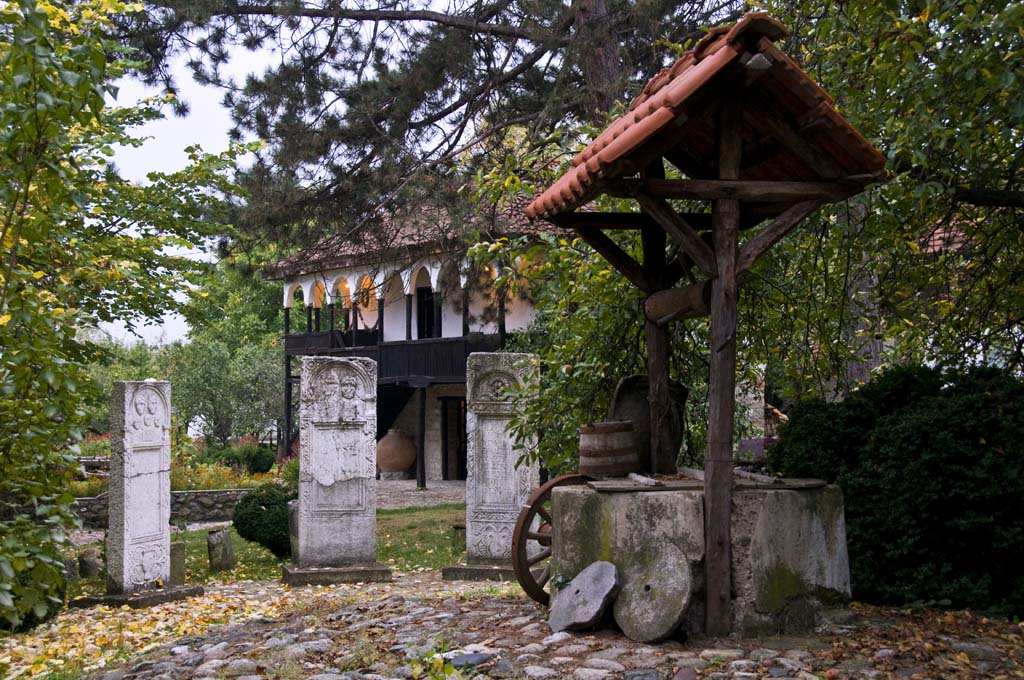 Lapidarium and the well